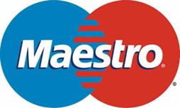 Logo tarjetas maestro