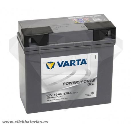 Batería de moto Varta Powersports GEL 51901