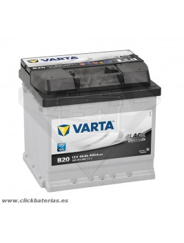 Bateria Varta B20 Black Dynamic 45 Ah