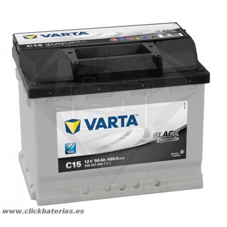 Bateria Varta C15 Black Dynamic 56 Ah