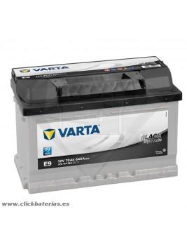 Batería de coche Varta E9 Black Dynamic 70 Ah