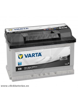 Bateria Varta E9 Black Dynamic 70 Ah
