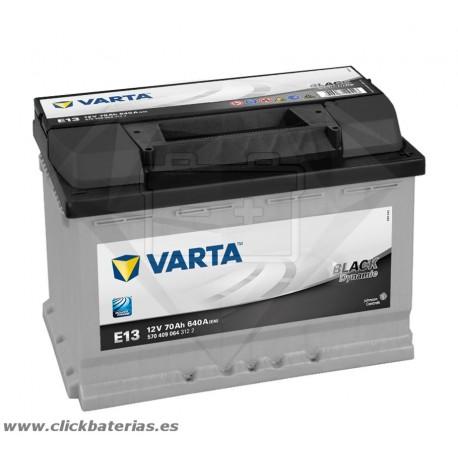 Bateria Varta E13 Black Dynamic 70 Ah