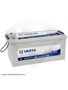 Batería de camión y vehículo industrial Varta Promotive Blue N7 215 Ah