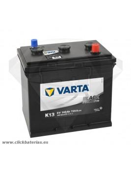 Batería de camión y vehículo industrial Varta Promotive 6v K13 140 Ah
