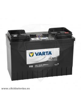 Batería de camión y vehículo industrial Varta Promotive Black I18 110 Ah