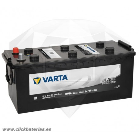 Batería de camión y vehículo industrial Varta Promotive Black I8 120 Ah
