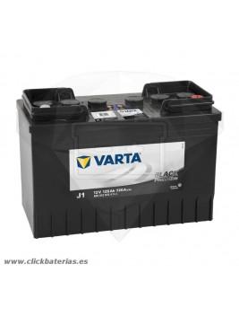 Batería de camión y vehículo industrial Varta Promotive Black J1 125 Ah