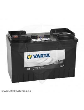 Batería de camión y vehículo industrial Varta Promotive Black J2 125 Ah