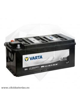 Batería de camión y vehículo industrial Varta Promotive Black K4 143 Ah