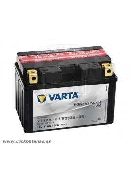 Bateria Varta Powersports AGM 51101 - YT12A-BS