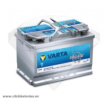 Bateria Varta Start-Stop Plus AGM E39