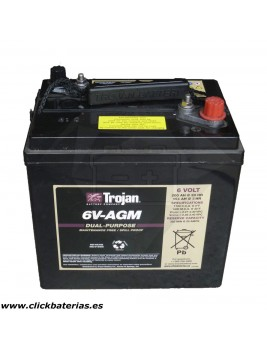 Batería Trojan 6V AGM