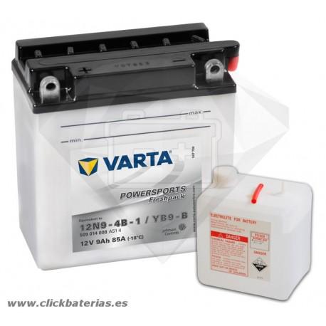 Batería de moto Varta Powersports50914 12N9-4B-1 / YB9-B