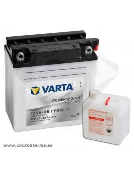 Batería de moto Varta Powersports50915 12N9-3B / YB9L-B