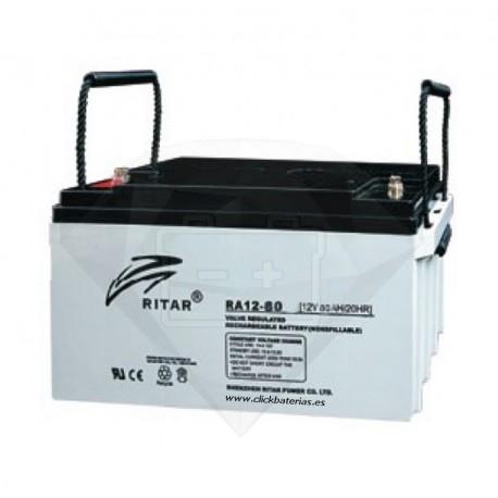 Batería Ritar RA12-80A