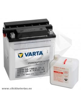 Batería de moto Varta Powersports51112 12N10-3A / 12N10-3A-1 / 12N10-3A-2 / YB10L-A2