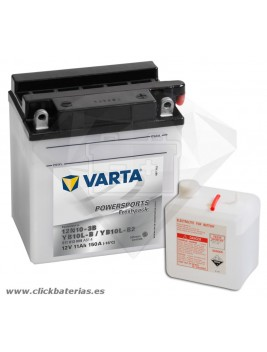 Batería de moto Varta Powersports51113 12N10-3B / YB10L-B / YB10L-B2