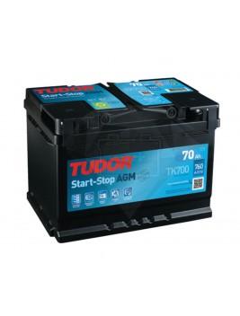 Batería de coche Tudor Start Stop AGM TK600