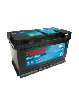 Batería de coche Tudor Start Stop AGM TK700