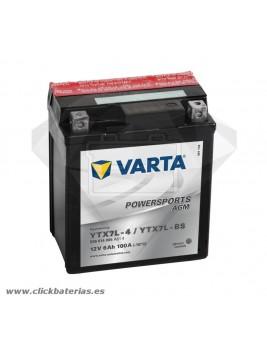 Batería de moto Varta Powersports AGM 50614 YTX7L-BS