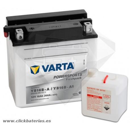 Batería de moto Varta Powersports51615 YB16B-A / YB16B-A1