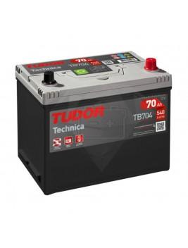 Batería de coche Tudor Technica TB704