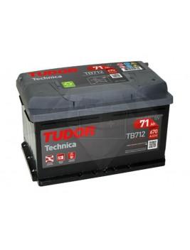 Batería de coche Tudor Technica TB712