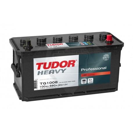 Batería de camión y vehículo industrial Tudor Professional TG1008