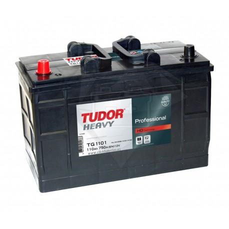 Batería de camión y vehículo industrial Tudor Professional TG1101