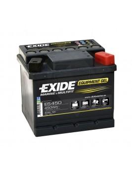 Batería de barco y caravana Exide Equipment GEL 450