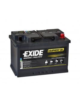Batería de barco y caravana Exide Equipment GEL 650