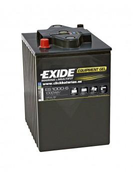 Batería de barco y caravana Exide Equipment GEL 1000-6