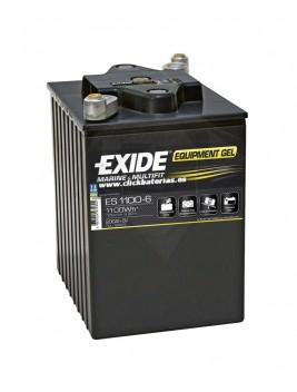 Batería de barco y caravana Exide Equipment GEL 1100-6