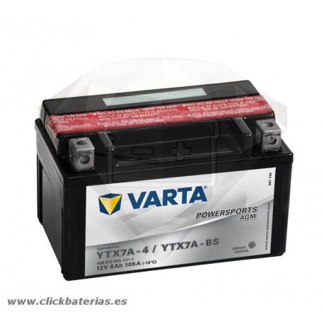 Bateria Varta Powersports AGM 50615 - YTX7A-BS