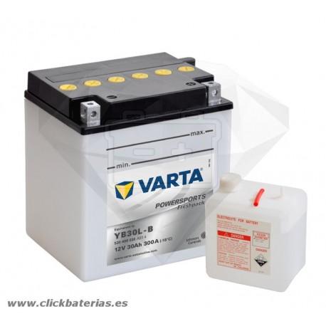 Batería de moto Varta Powersports53000 YB30L-B