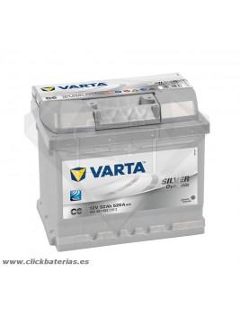 Batería de coche Varta C6 Silver Dynamic 52 Ah