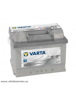 Bateria Varta D21 Silver Dynamic 61 Ah