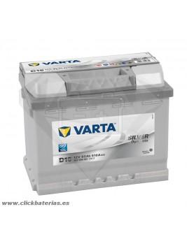 Batería de coche Varta D15 Silver Dynamic 63 Ah