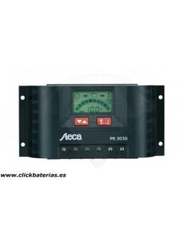 Regulador con pantalla Steca PR 3030