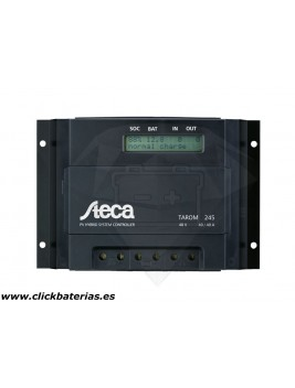 Regulador con display Steca Tarom 245