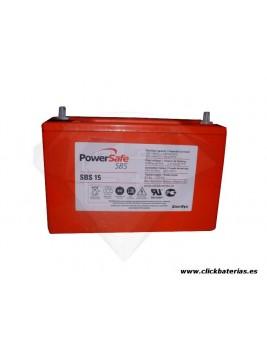 Batería Powersafe SBS-15