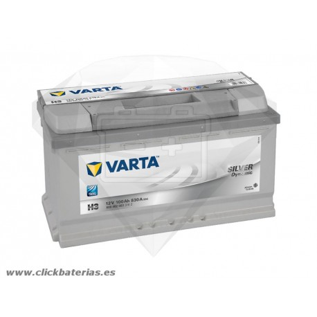 Bateria Varta H3 Silver Dynamic 100 Ah