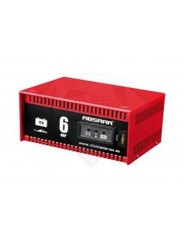 Cargador de Baterías ABSAAR 6amp
