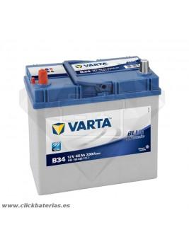 Batería de coche Varta B34 Blue Dynamic 45 Ah
