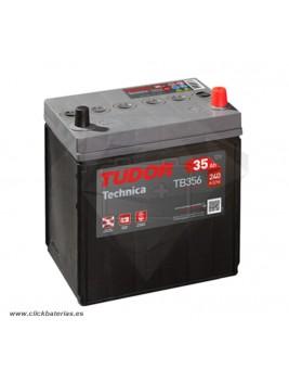 Batería de coche Tudor Technica TB356