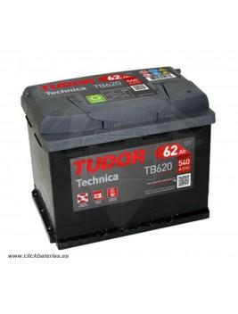 Batería de coche Tudor Technica TB620