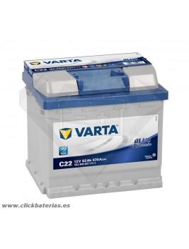 Batería de coche Varta C22 Blue Dynamic 52 Ah