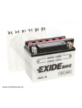 Batería de moto Exide Conventional YB4L-B