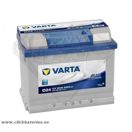 Bateria Varta D24 Blue Dynamic 60 Ah